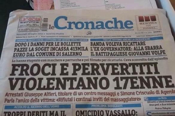 Froci, Le Cronache